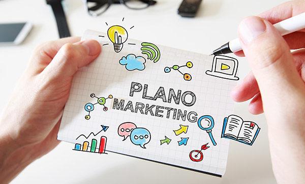 Ilustração alusivo ao planejamento de marketing